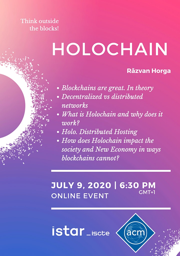 Holochain by Iscte ACM Student Chapter
