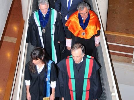 Cerimónia atribuição Doutoramentos Honoris Causa